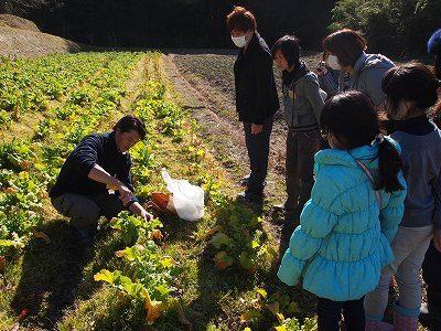結農園×星空スペース ナバナ摘み&恵方巻づくり 開催しました