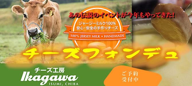 【予約制】チーズ工房IKAGAWAx星空スペース とろけるチーズフォンデュ 期間限定で募集します