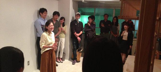 東京で、田舎の古民家の活かし方の話をしたら、人が50人以上も集まってござる