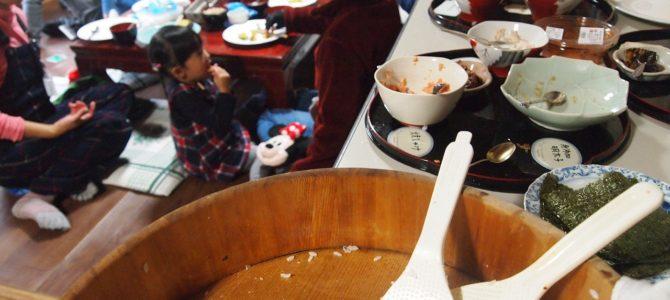 結農園x星空スペース 一年の大収穫感謝祭 新米を釜炊きしておにぎりを作ろう!開催しました。