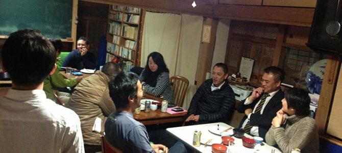 いすみ市 x greenz主催『いすみローカル起業部(交流会含む)』ゲスト講師は原っぱ大学の塚越さん