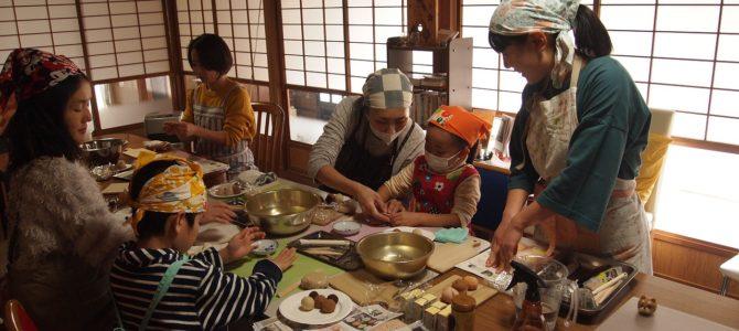 結農園×星空スペース 親子で作るバレンタイン和菓子ワークショップ 開催しました。