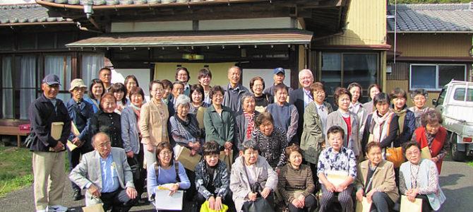 君津市清和公民館ご一行様の空き家活用視察ツアーを受け入れました