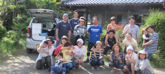 結農園x星空スペース いよいよ田植え&里山バーベキュー第2弾 開催しました。