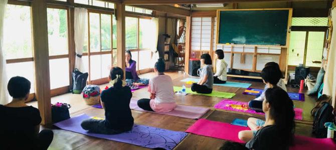 Reborn Yoga様 ヨガイベントを星空スペースで開催いただきました