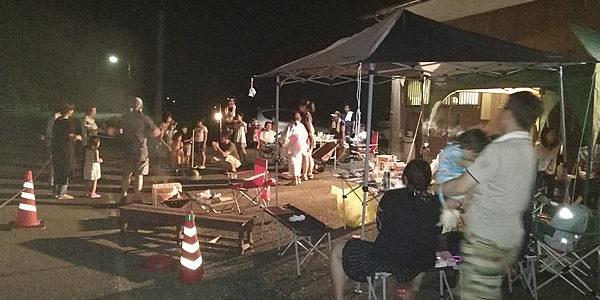 いすみ市能実地区の小さな夏祭り。一年に一度だけの花火の思い出を続けていく