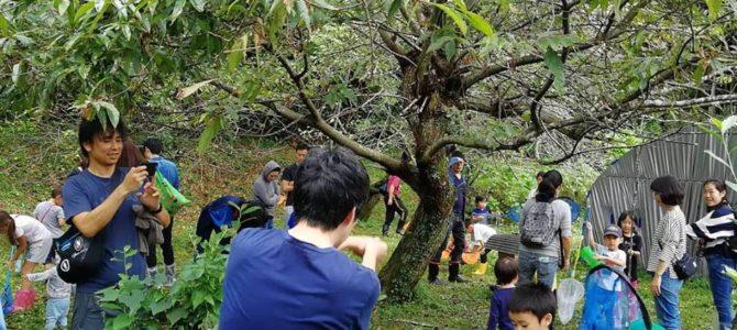 東京から大型バス1台分のたくさんの親子さんたち、里山を楽しんでいきました
