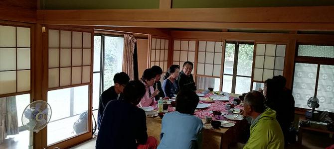 はじめてのお仕出し。柿もぎと柿の和菓子作り体験教室ツアーイベントにてランチをご提供