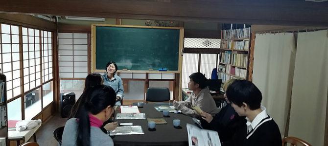 関東学院大学人間環境学部立山ゼミの視察会受け入れ