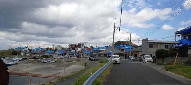館山市布良地区の災害復興ボランティアに参加してきました